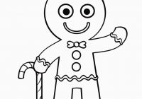 Free Christmas Coloring Pages Gingerbread Man With Pinterest