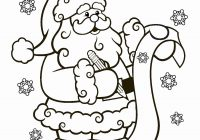 Free Christmas Coloring Pages Santa Claus With Sleigh Lovely
