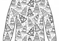 Free Christmas Colouring Pages Uk With Jumpers Pattern Download Hobbycraft Blog