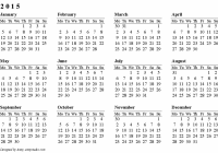 Free Printable Calendars and Planners 15, 15 and 15 – Calendar For Year 2019 Australia