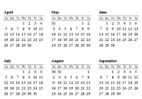 Free Printable Calendars and Planners 18, 18 and 18 – 2019 Year Calendar One Page