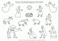 Free Printable Catholic Christmas Coloring Pages With Collection Of Nativity Images Download Them And Try