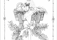 Free printable Christ-centered Christmas coloring pages   Crafts ..