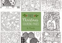 Free Printable Christmas Coloring Pages Com With Nativity Scene