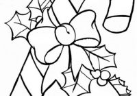 Free, Printable Christmas Coloring Pages for Kids – Christmas Coloring Outline