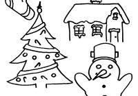Free Printable Easy Christmas Coloring Pages With Party Simplicity Page For Kids