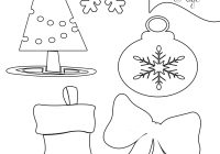Free Printable Easy Christmas Coloring Pages With Party Simplicity To Print