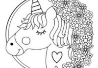 Free Printable Unicorn Colouring Pages for Kids – Buster Children's ..