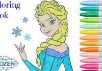 FROZEN – Disney Coloring Book Elsa Princess ♩Colouring Pages For ..