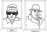 Gangsta Rap Coloring Book / Boing Boing – gangsta rap coloring book