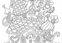Gingerbread House / Christmas Coloring Page / Kids Holiday / Slugs ..
