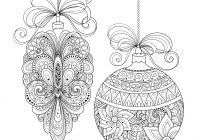 Grayscale Santa Coloring Pages With Christmas Ornaments Use This Page To Make Your Own