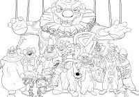 Grayscale Santa Coloring Pages With Free Book For Adults Addict