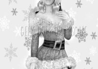 Grayscale Santa Coloring Pages With Page Baby Adult Etsy