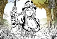 Grimm Fairy Tales Steampunk: Alice In Wonderland One-Shot Coloring ..