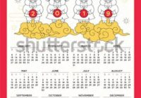 Happy Chinese New Year 16 Calendaryear Stock Vector (Royalty Free ..