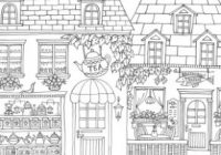 Happy Pub Day! Romantic Country: A Fantasy Coloring Book by Eriy ..
