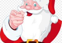 Happy Santa Claus Christmas Coloring Pages With Jumbo Book