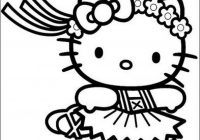 Hello Kitty Christmas Coloring Pages Free Print With Unique Cartoon Gallery Printable