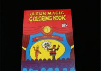 HEY FUNNY A Fun Magic Coloring Book small size magic tricks, best ..