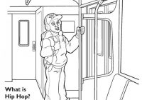 HipHop Pgs Page Elegant Gangsta Rap Coloring Book – Liandola