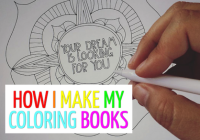 How I Make My Coloring Books – Creative Dream Incubator – how to make a coloring book