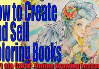 How to Create and Sell your own Coloring Books Tips and Tricks – YouTube – how to make a coloring book