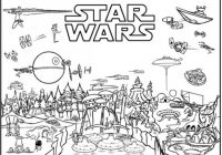 Ignite Your Creativity with Star Wars Coloring Pages… 16% Free ..