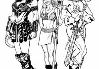 Image result for xena lineart | Sam's Xena  – xena coloring book