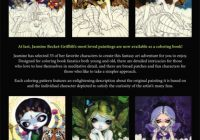 Jasmine Becket-Griffith Coloring Book Adult Grownup – jasmine becket griffith coloring book