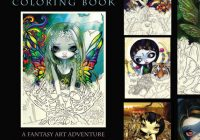 Jasmine Becket-Griffith Coloring Book preorder on Amazon – jasmine becket griffith coloring book