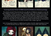 Jasmine Becket-Griffith Halloween Coloring Book Adult Grownup – jasmine becket griffith coloring book