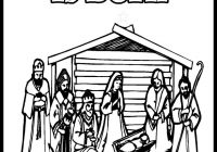 Jesus Christ Christmas Coloring Pages With Download Getwallpapers Us