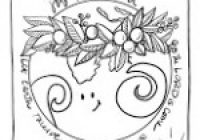 Joy to the World Christmas Coloring Page and Screensaver – Marydean ..