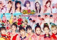 k-pop lover ^^: OH MY GIRL – Coloring Book WALLPAPER – oh my girl coloring book