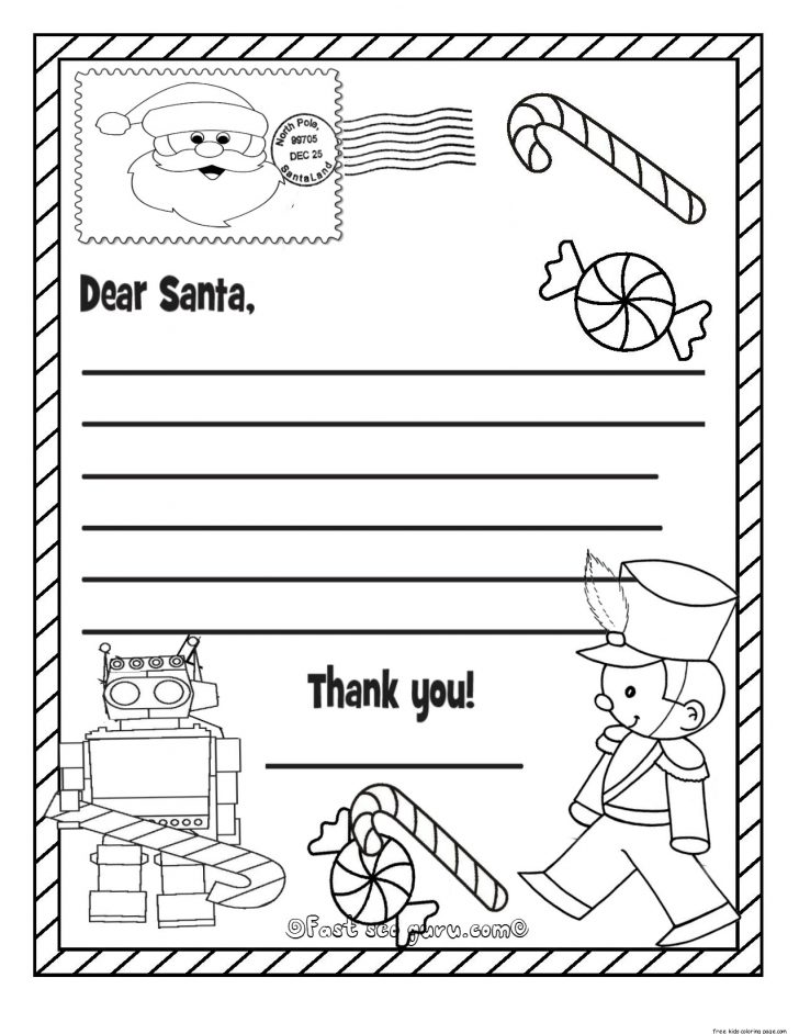 Permalink to Kids Christmas Santa Claus Coloring Page Sheets