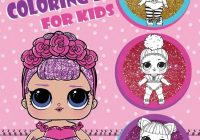 L.O.L. Surprise! Coloring Book for Kids: Over 19 Jumbo Coloring ..