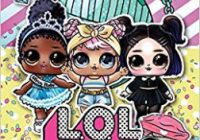 L.O.L. Surprise! Coloring Book: MEGA COLLECTION: Over 19 Jumbo ..