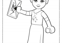 Lego Christmas Coloring Pages With Save Free