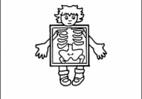 Letter X Coloring Book – Free Printable Pages – x-ray coloring book