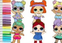 LOL Surprise Doll Coloring Book Compilation Genie Miss Punk Can Do ..