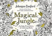 Magical Jungle: An Inky Expedition and Coloring Book for Adults ..