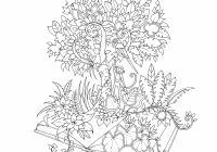 Magical Jungle: An Inky Expedition  – magical jungle coloring book