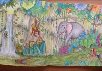 Magical Jungle by Johanna Basford Colouring Book Flipthrough – YouTube – magical jungle coloring book