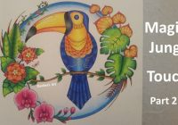 MAGICAL JUNGLE | Color Along of the Toucan – Part 18/18 | Coloring ..