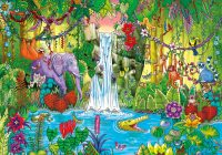 Magical Jungle Jigsaw Puzzle | PuzzleWarehouse