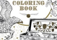 Make Your Own Magic with the First Official Harry Potter Coloring ..