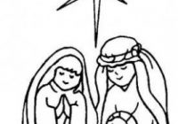 Mary, Joseph, and Baby Jesus Coloring Page | christmas | Nativity ..