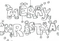 Merry Card Coloring Pages Free Printable Sheet Sheets For Teens ..