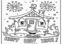 Merry Christmas And Happy New Year Coloring Pages With Www Sd Ram Us In